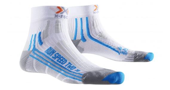 X-Socks Run Speed Two Hardloopsokken Dames blauw/wit